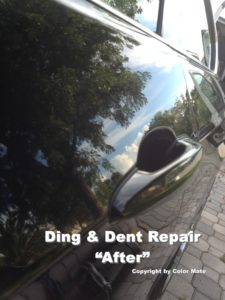 Ding and Dent Repair after