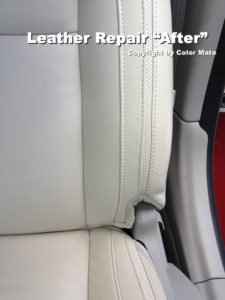 Leather Repair after